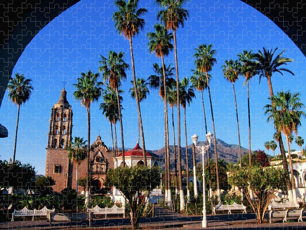 Arch Puzzle featuring the photograph Plaza De Armas by John Elk