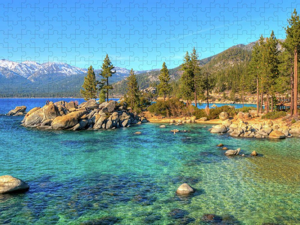 Tranquility Puzzle featuring the photograph Sand Harbor State Park, Lake Tahoe by Www.35mmnegative.com