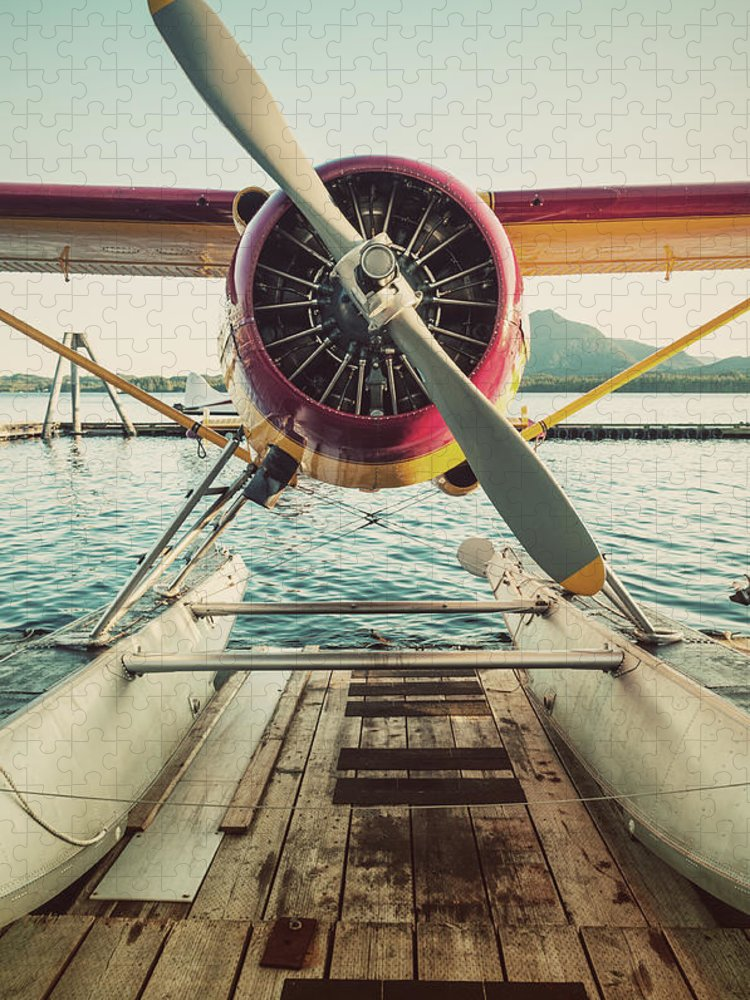 Propeller Puzzle featuring the photograph Seaplane Dock by Shaunl