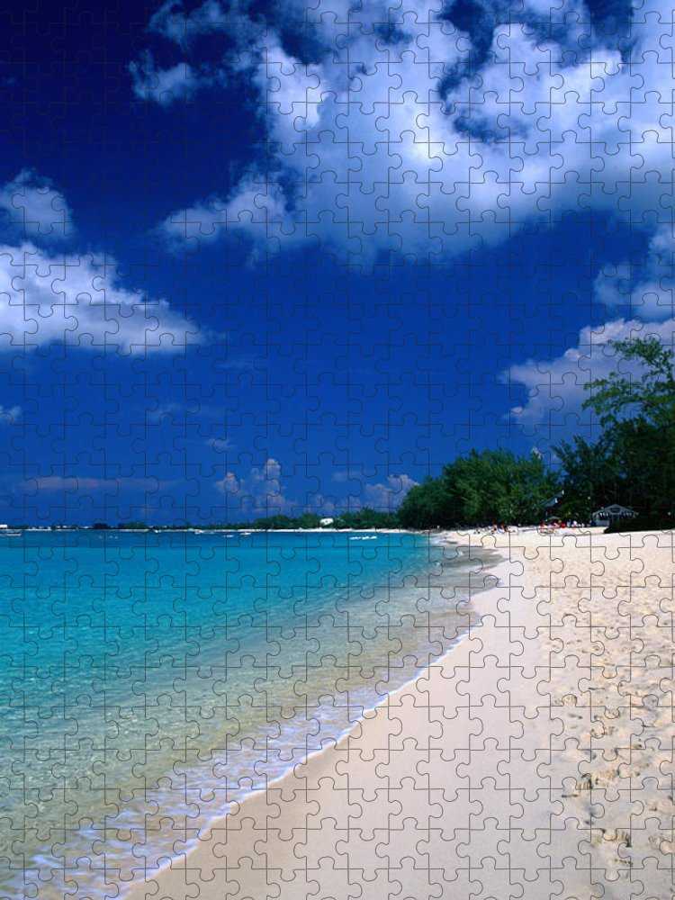 Scenics Puzzle featuring the photograph Seven Mile Beach by David C Tomlinson