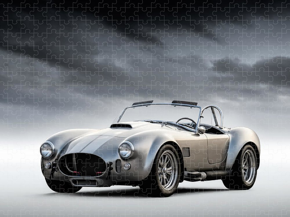 Can Be Personalised AC Shelby Cobra A4 JIGSAW Puzzle Birthday Christmas Gift