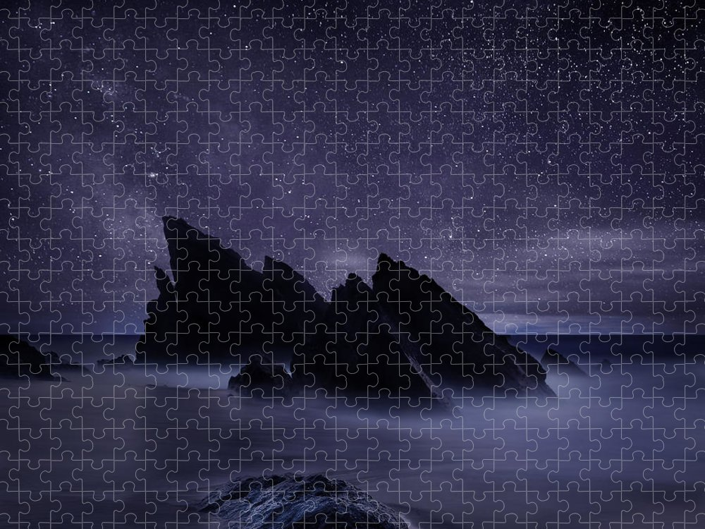 Night Puzzle featuring the photograph Whispers of eternity by Jorge Maia