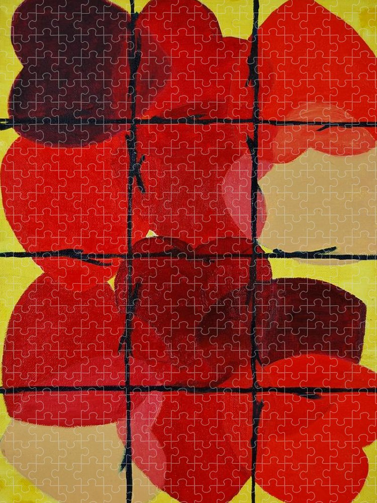 Love Puzzle featuring the painting Love No Categories Please by Charla Van Vlack