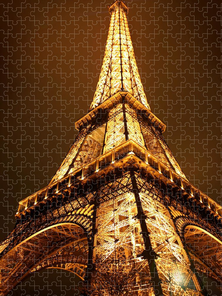 Eiffel Puzzle featuring the photograph Eiffel by Skip Hunt