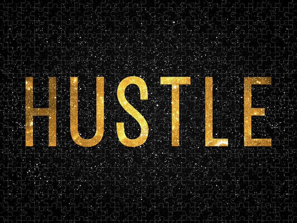 Hustle Puzzle featuring the digital art Hustle by Zapista OU
