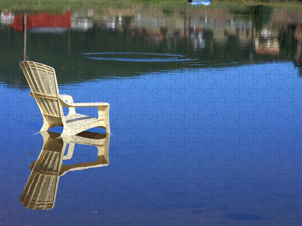 Water Puzzle featuring the photograph Reflections Fine Art Photography Print by James BO Insogna