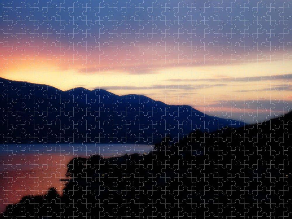 Sunset Puzzle featuring the photograph Sunday by De La Rosa Concert Photography