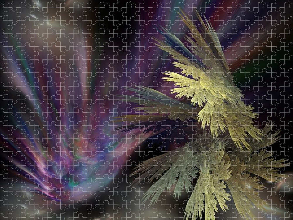 Fantasy Puzzle featuring the digital art Untitled 12-05-09 by David Lane