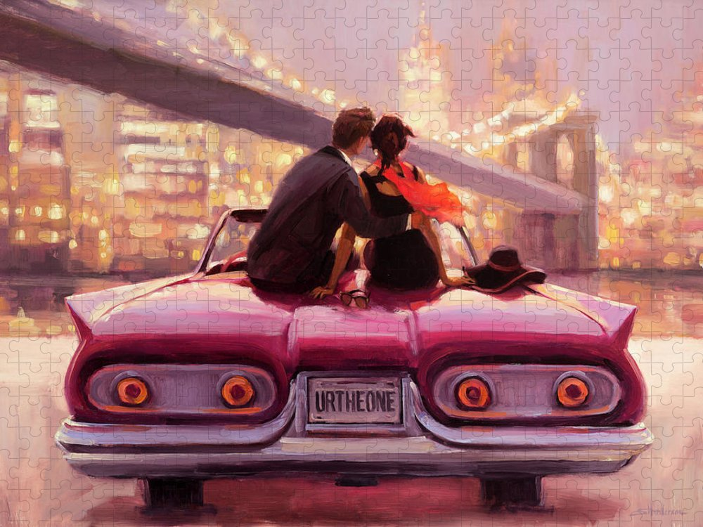 Love Puzzle featuring the painting You Are the One by Steve Henderson