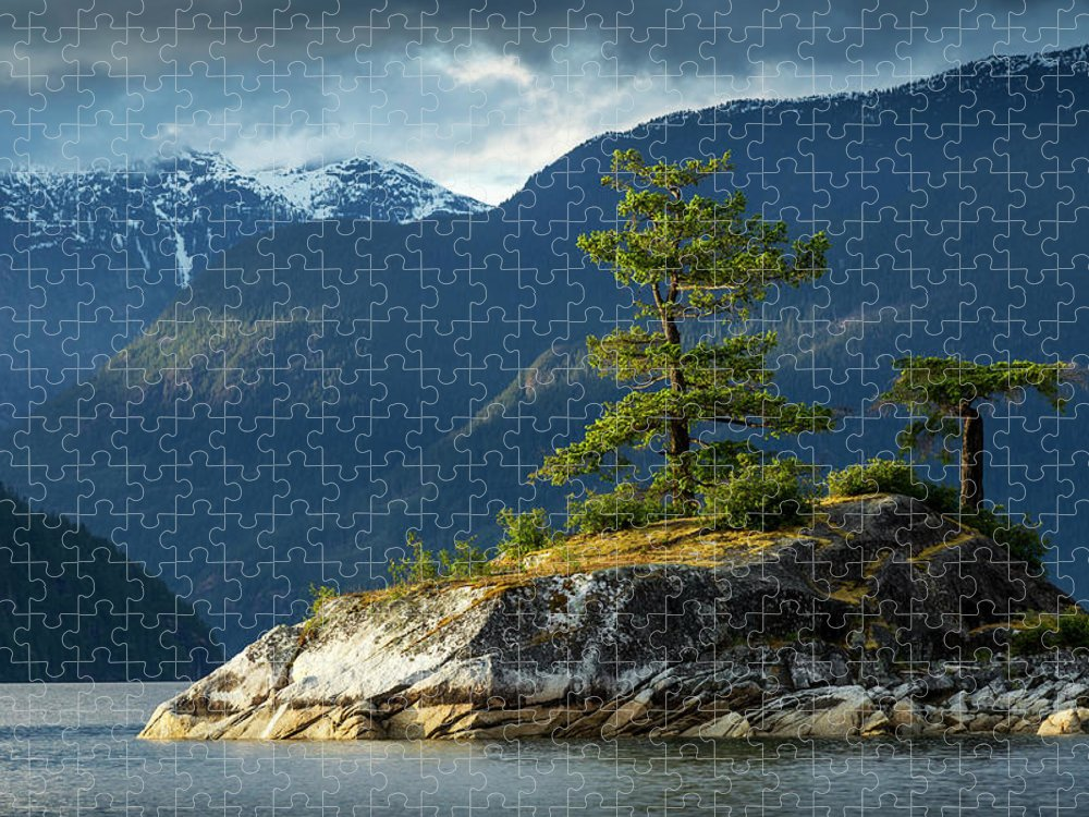 Scenics Puzzle featuring the photograph Desolation Sound, Bc, Canada by Paul Souders