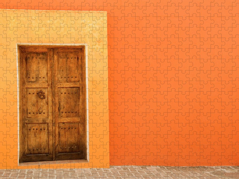 Hinge Puzzle featuring the photograph Doorway by Livingimages