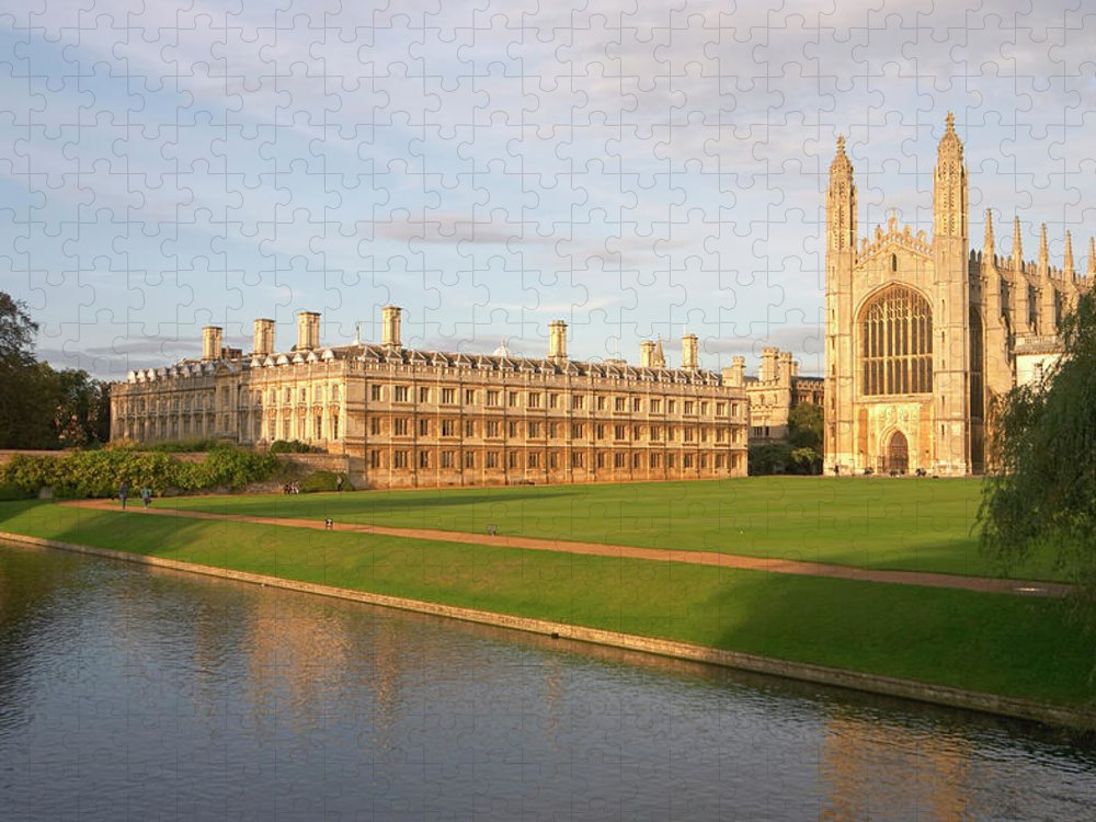 Shadow Puzzle featuring the photograph England, Cambridge, Cambridge by Andrew Holt
