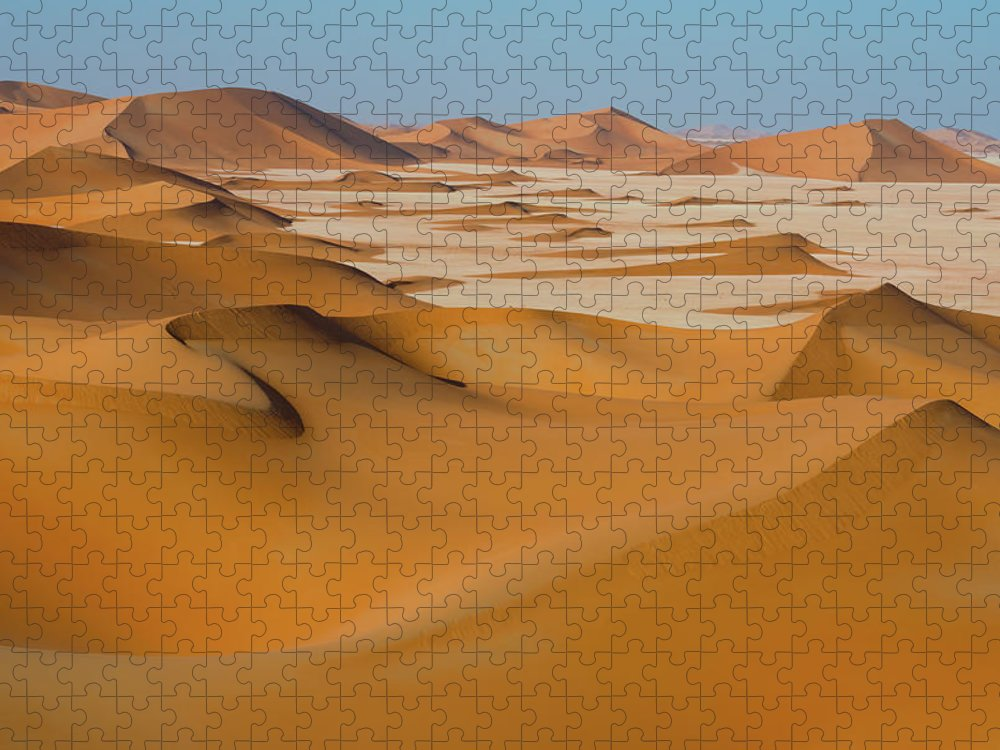 Tranquility Puzzle featuring the photograph Rub Al-khali Empty Quarter by All Rights Reserved For Ahmed Al-shukaili