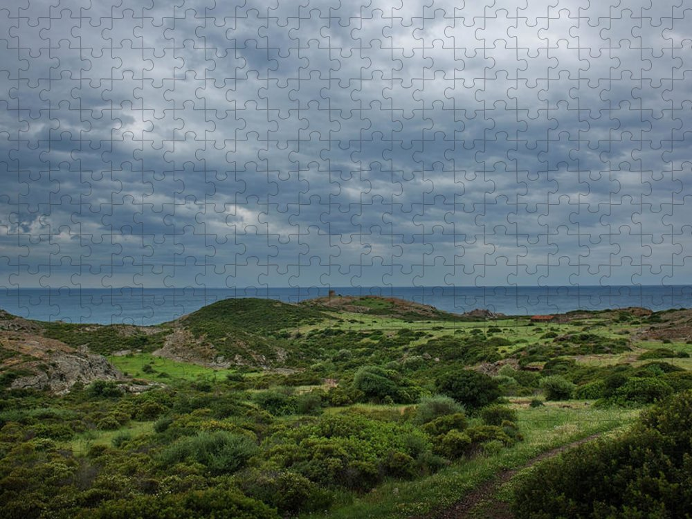 Scenics Puzzle featuring the photograph Torre Argentina Promontory by Maremagnum