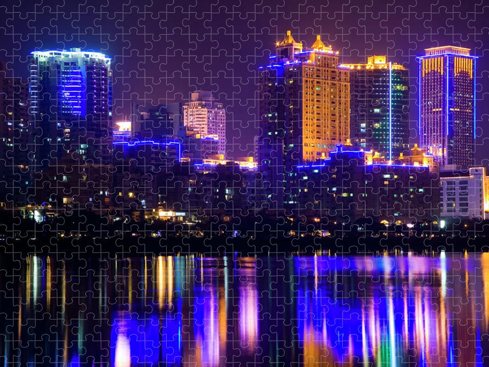 Chinese Culture Puzzle featuring the photograph Xiamen,fujian by Best View Stock