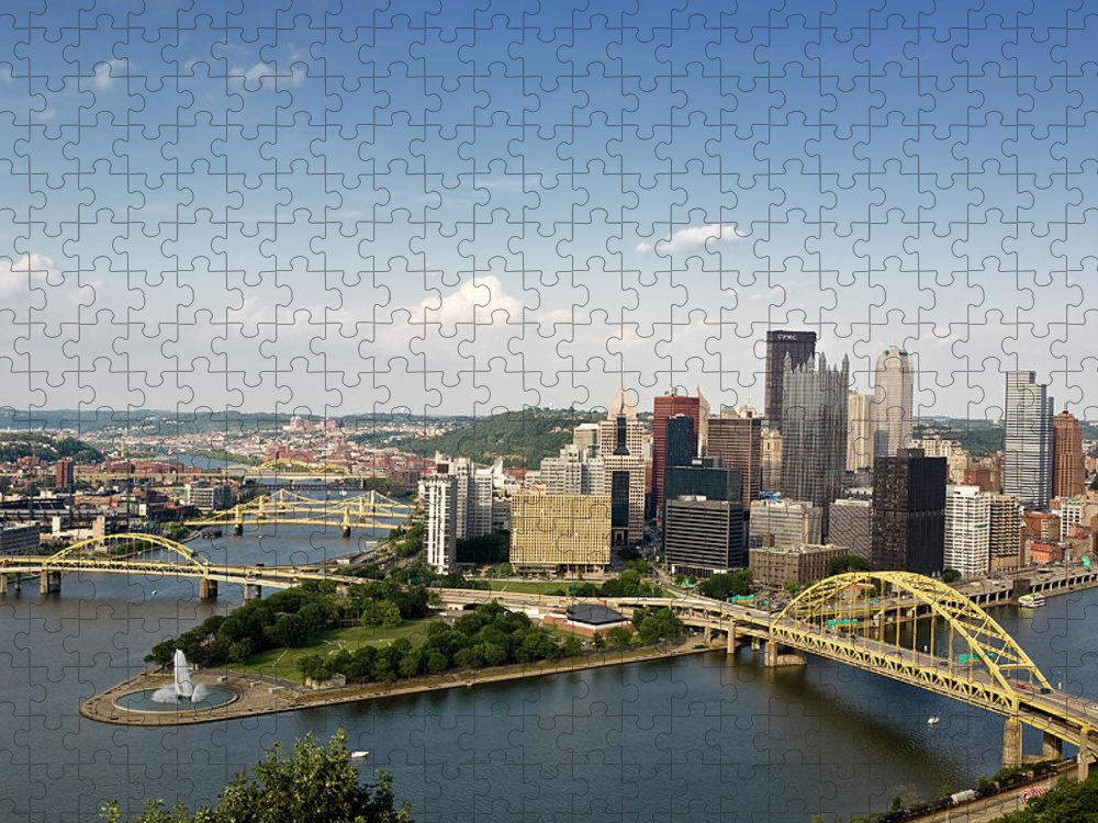 Arch Puzzle featuring the photograph Pittsburgh by Jan Tyler