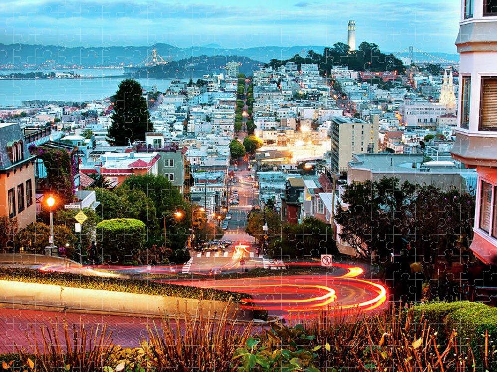San Francisco Puzzle featuring the photograph San Francisco, California by Geri Lavrov