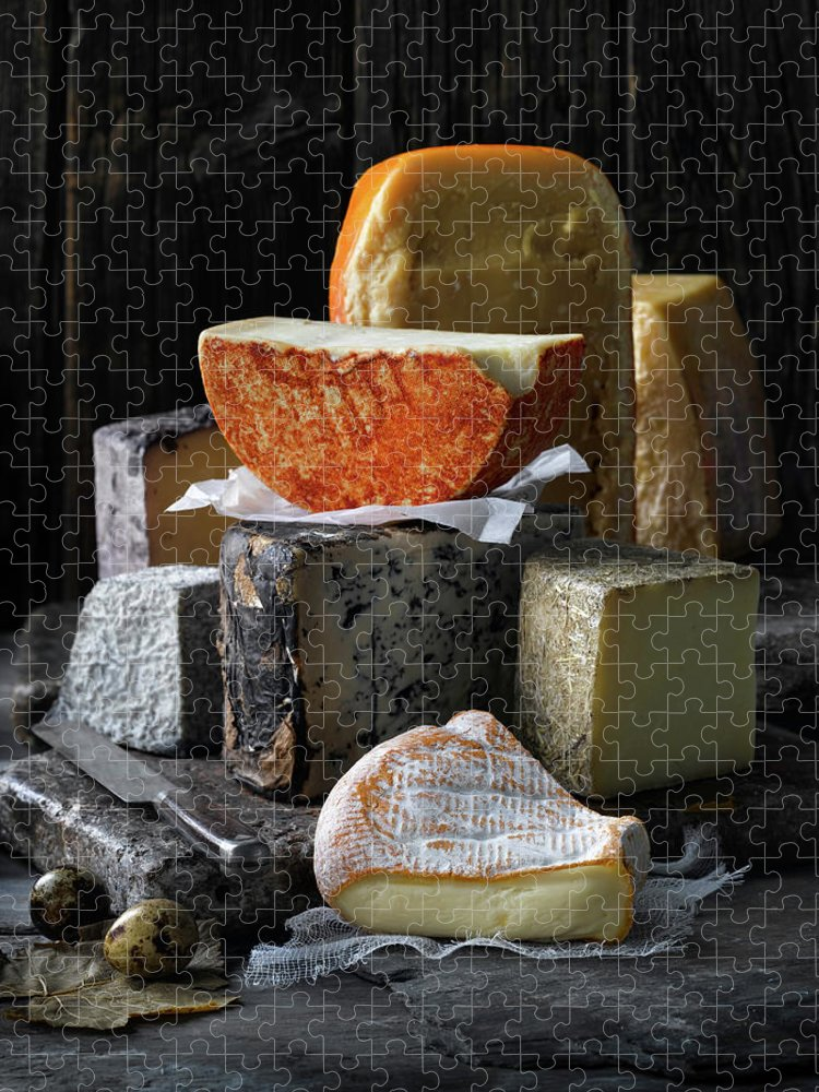Food And Drink Puzzle featuring the photograph Food by Brian Macdonald