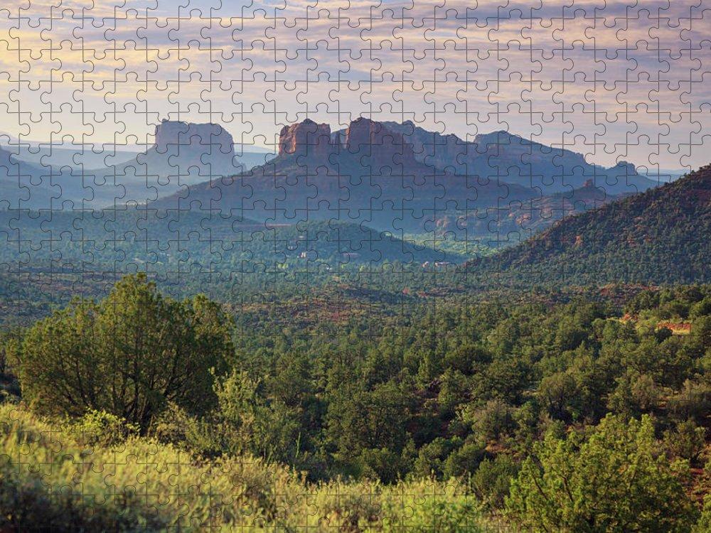 Scenics Puzzle featuring the photograph Usa, Arizona, Sedona by Michele Falzone