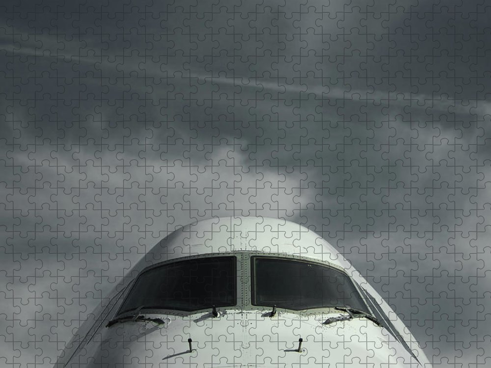 Tranquility Puzzle featuring the photograph Aircraft by Laurent Chantegros