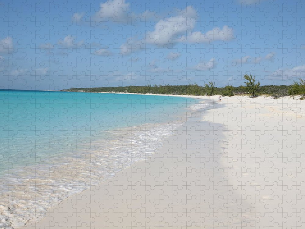 Wind Puzzle featuring the photograph Bahamas Beach Scene by Ngirish