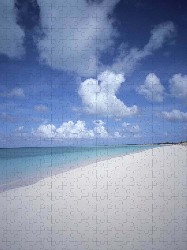 Scenics Puzzle featuring the photograph Bahamas, Turks And Caicos Islands by Bob Thomas