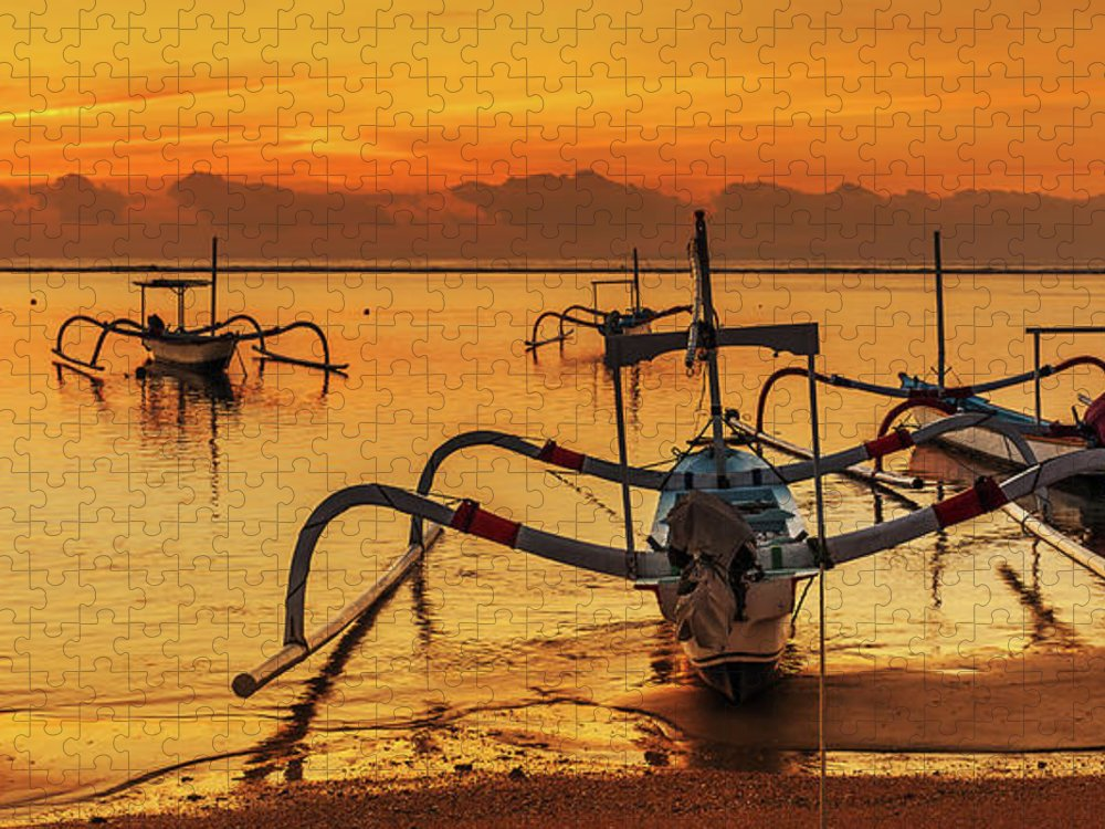 Tranquility Puzzle featuring the photograph Bali, Indonesia Vacations by Simonlong
