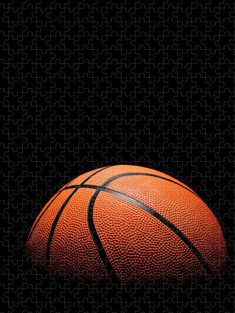 Team Sport Puzzle featuring the photograph Basketball by Stuartbur