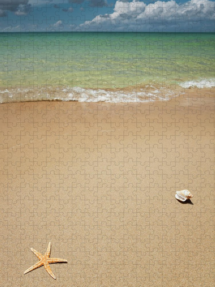 Empty Puzzle featuring the photograph Beach by Ugurhan