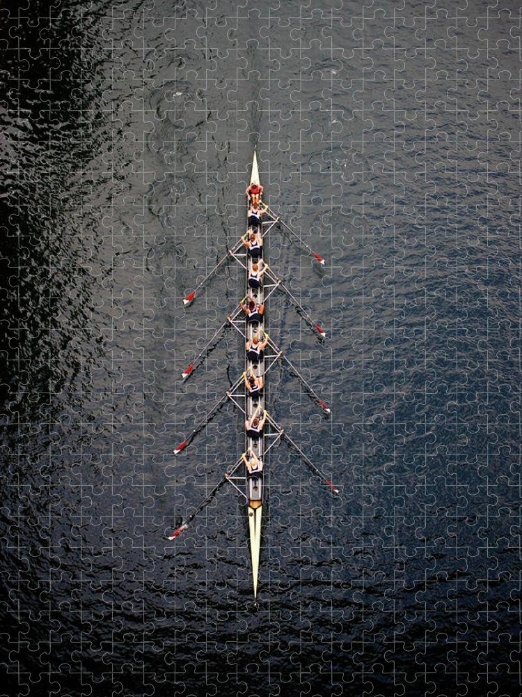Viewpoint Puzzle featuring the photograph Boat Race by Fuse