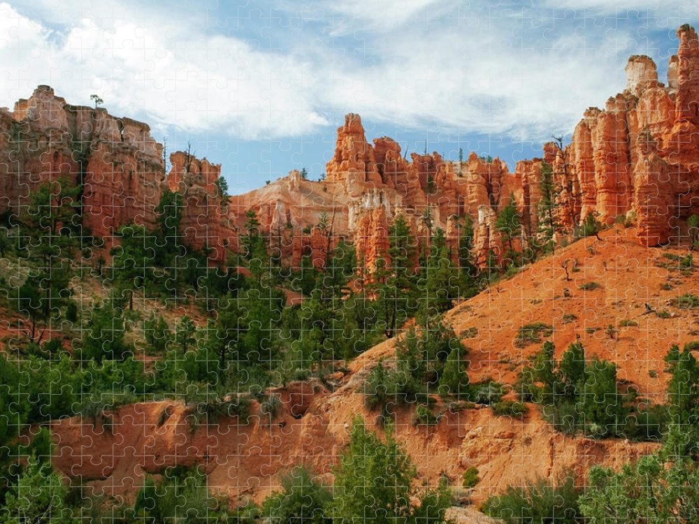 Scenics Puzzle featuring the photograph Bryce Canyon by Wsfurlan