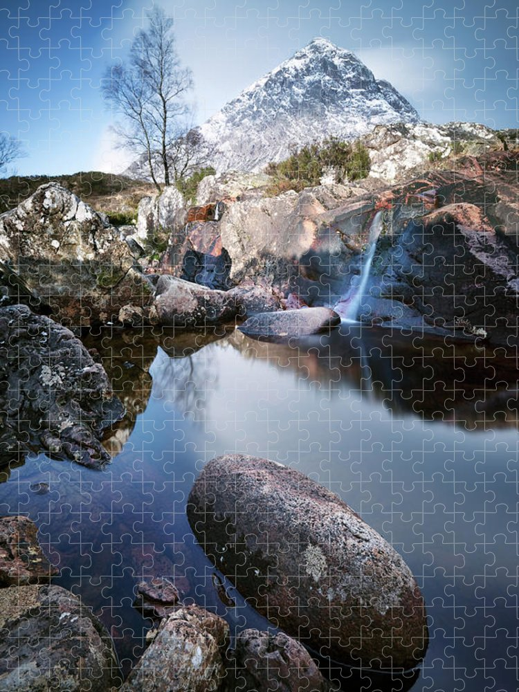 Scenics Puzzle featuring the photograph Buachaille Etive Mor by Matteo Colombo