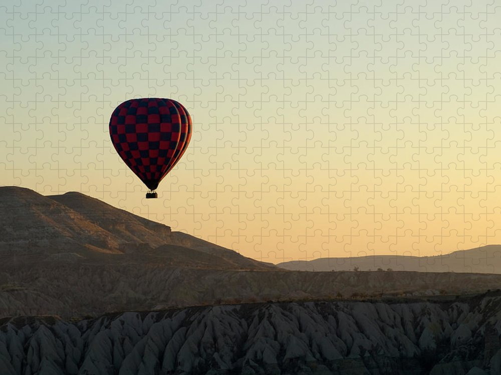 Scenics Puzzle featuring the photograph Cappadocia Valley by Julian Kaesler