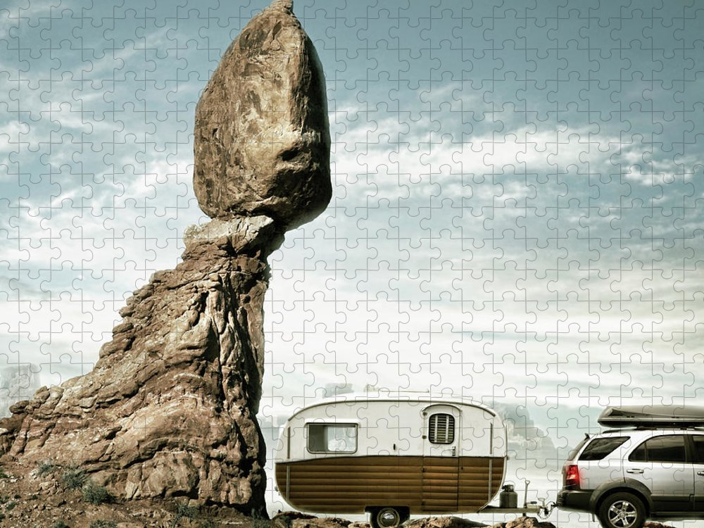 Camping Puzzle featuring the photograph Careless Camping by Colin Anderson