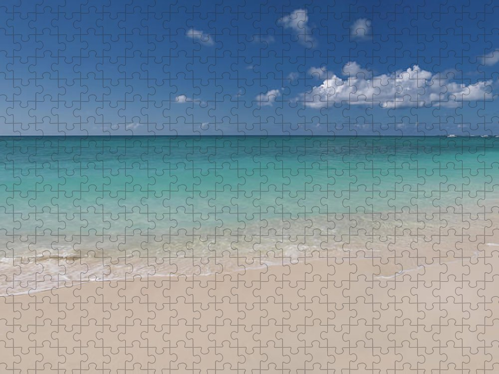 Cayman Islands Puzzle featuring the photograph Caribbean Paradise - Beach by Dragansaponjic