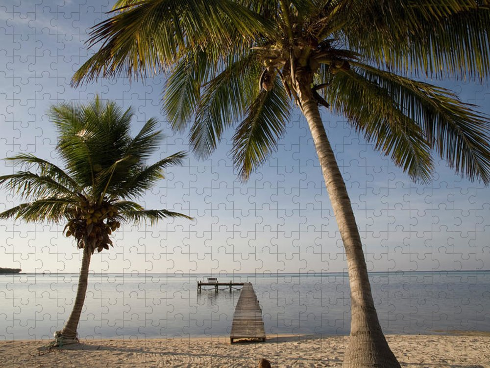 Scenics Puzzle featuring the photograph Caribbean Sea, Cayman Islands, Little by Paul Souders