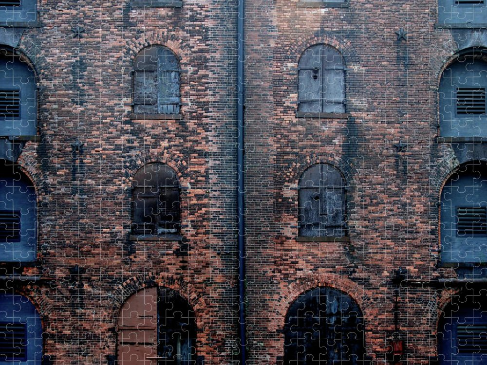 Outdoors Puzzle featuring the photograph Civil War Era Spice Warehouse by © Rick Elkins