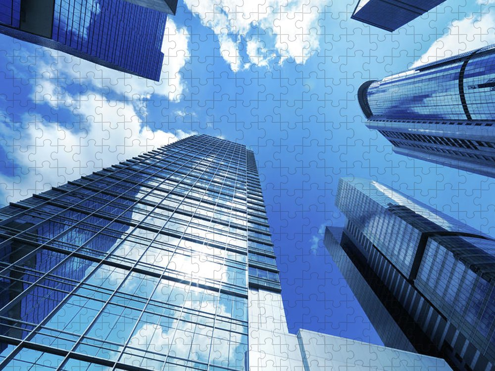 Corporate Business Puzzle featuring the photograph Corporate Building by Samxmeg