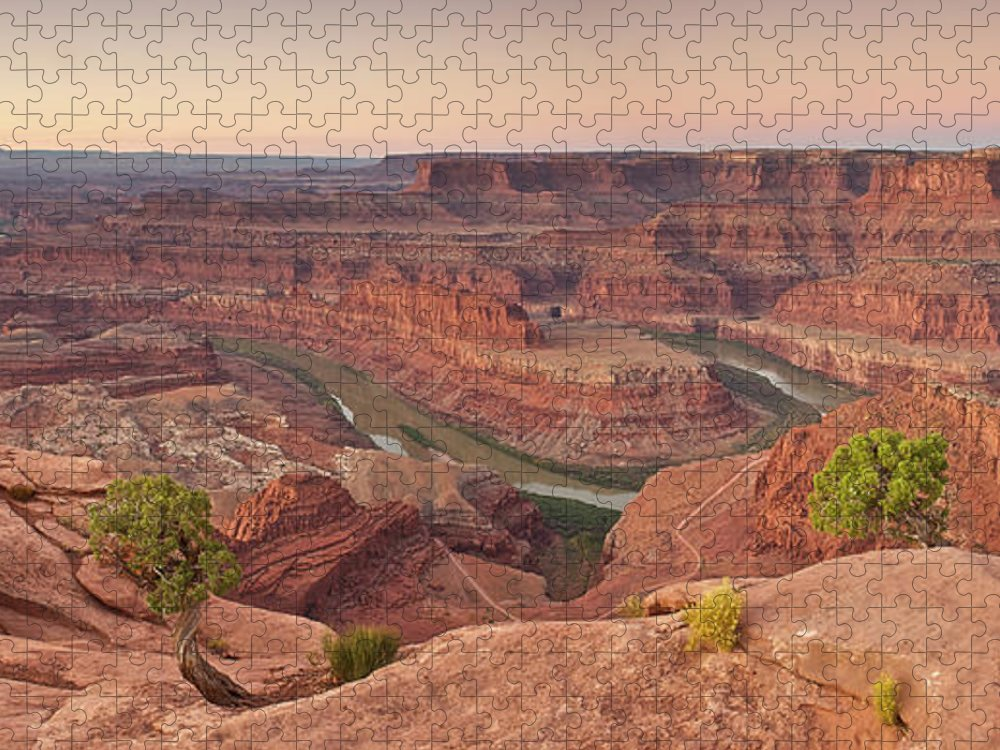 Scenics Puzzle featuring the photograph Dead Horse Point State Park, Utah by Enrique R. Aguirre Aves