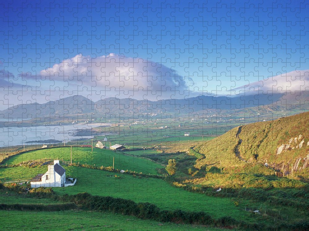 Outdoors Puzzle featuring the photograph Dingle Peninsula, County Kerry, Ireland by Peter Adams