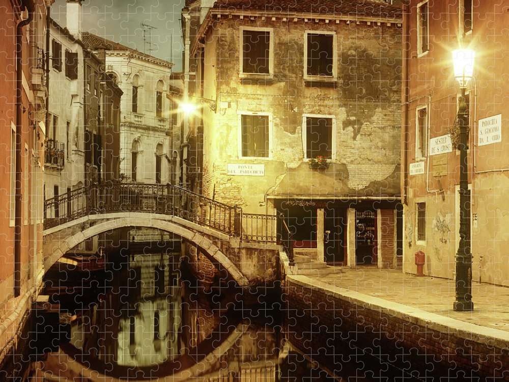 Empty Puzzle featuring the photograph Dreaming Venice by Mammuth
