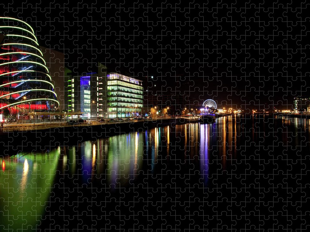 Dublin Puzzle featuring the photograph Dublin City Along Quays by Image By Daniel King