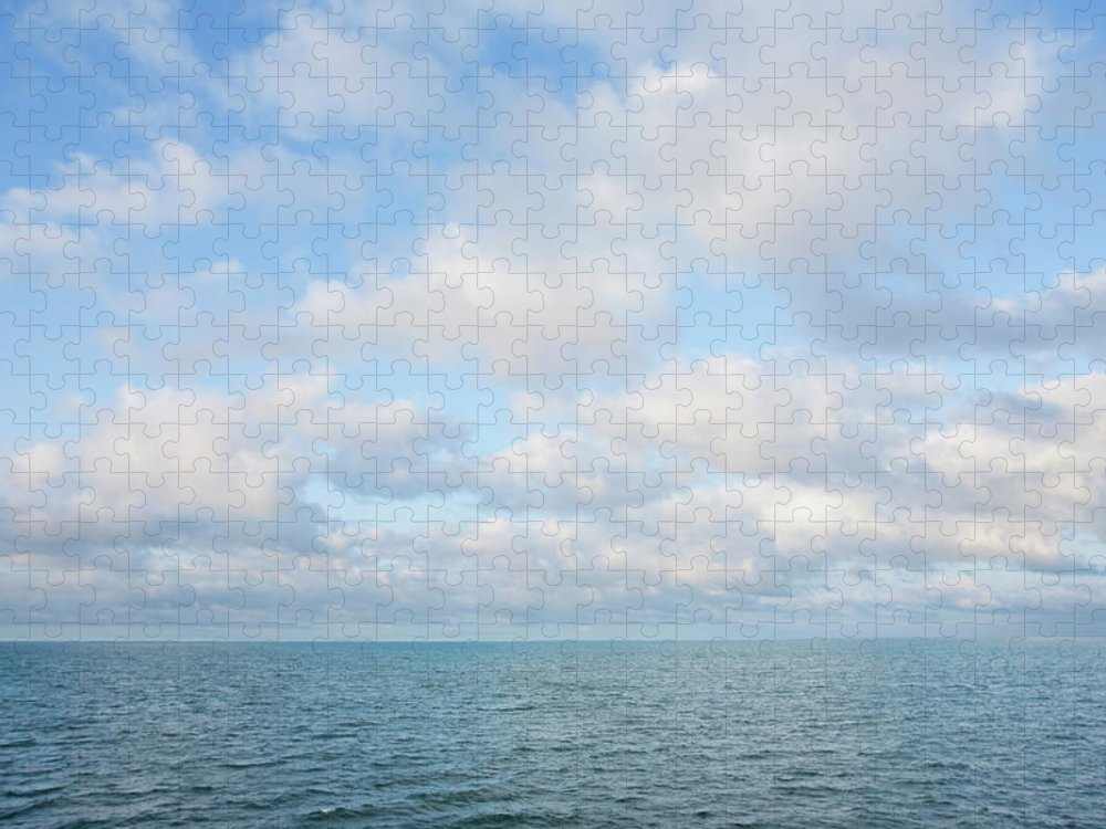 Tranquility Puzzle featuring the photograph Early Morning, Nantucket Sound by Nine Ok
