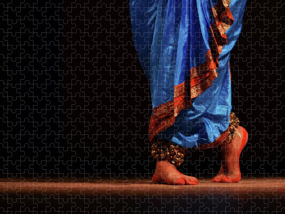 Expertise Puzzle featuring the photograph Feet - The Soul Of Dance by Avishek Saha
