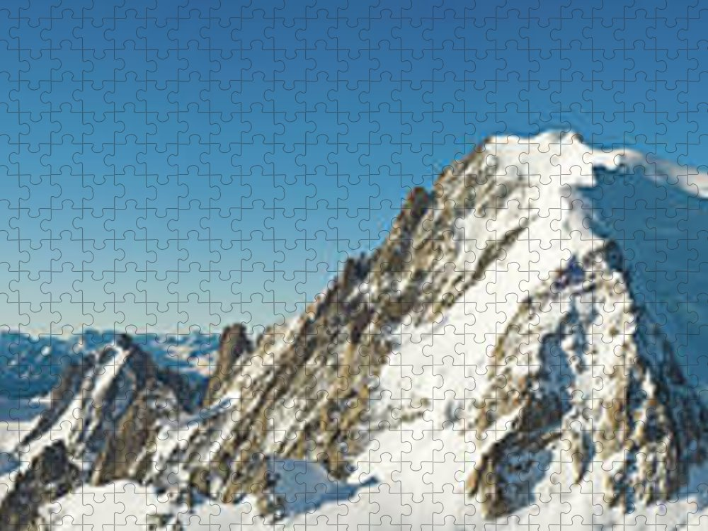 Scenics Puzzle featuring the photograph Glorious Mountain Vista Xxxl by Fotovoyager