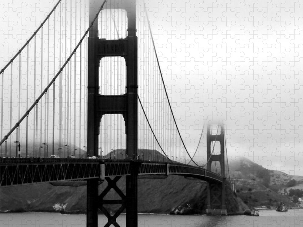San Francisco Puzzle featuring the photograph Golden Gate Bridge by Federica Gentile