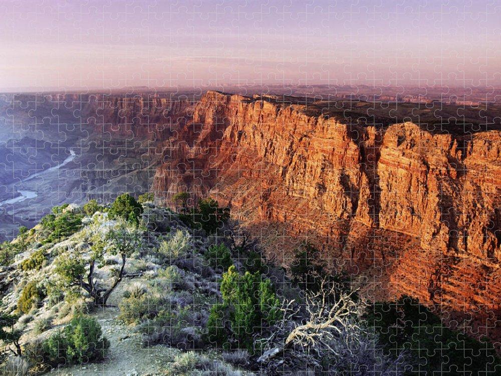 Scenics Puzzle featuring the photograph Grand Canyon, Arizona by Steve Satushek