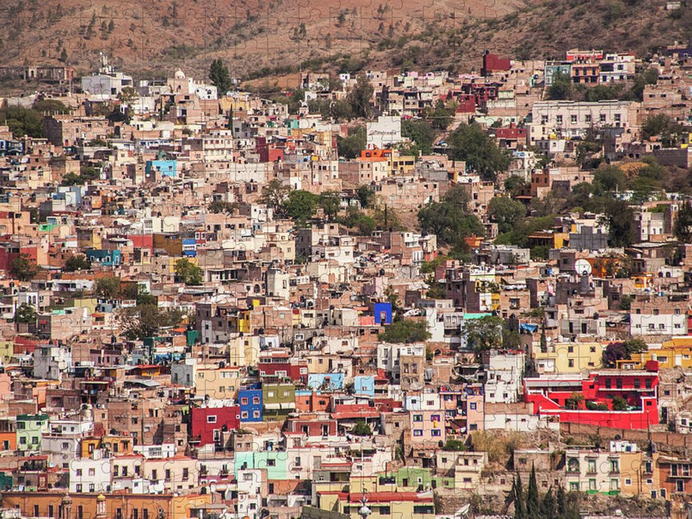 Scenics Puzzle featuring the photograph Guanajuato by Maryann Flick