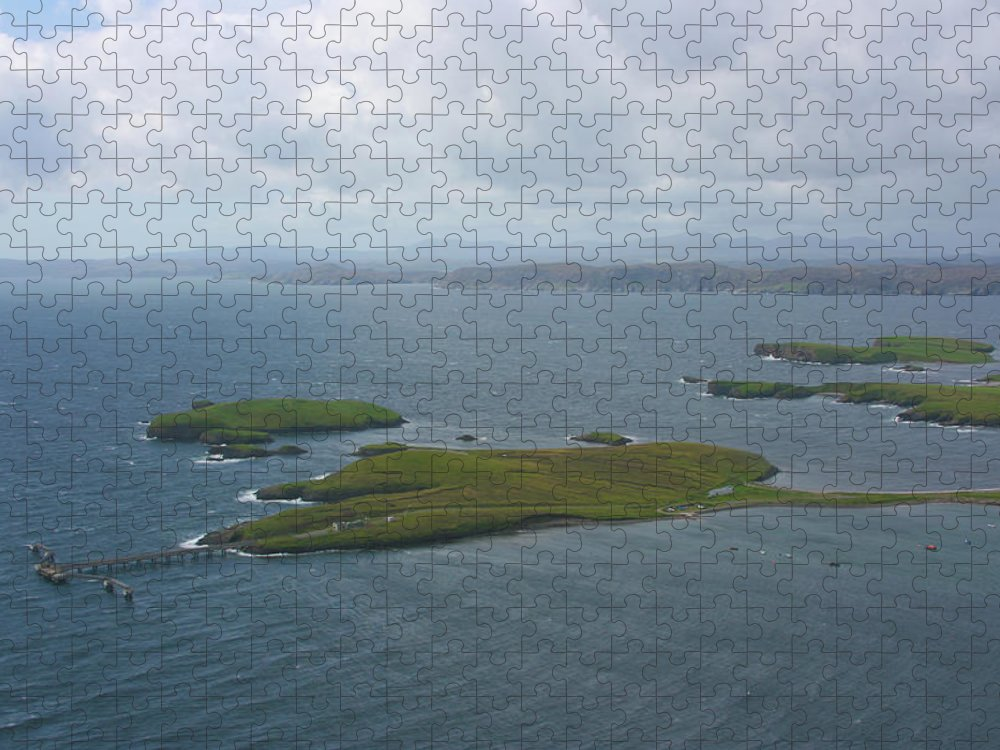 Tranquility Puzzle featuring the photograph Holm, Stornoway, Isle Of Lewis by Donald Morrison