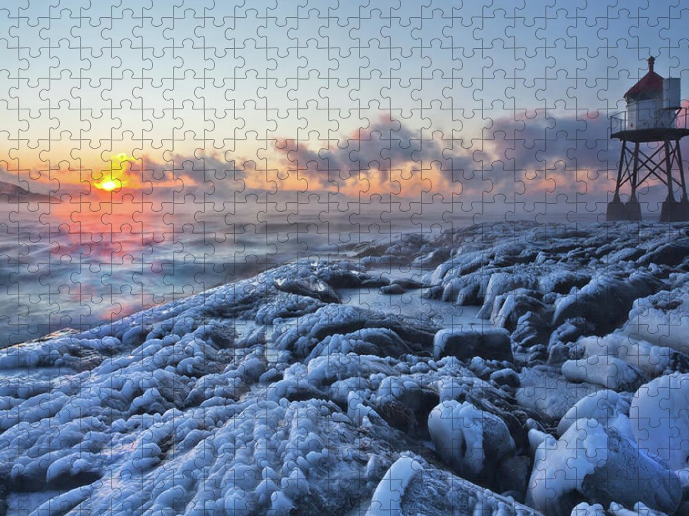 Tranquility Puzzle featuring the photograph Ice Age by Lars Mathisen Photography